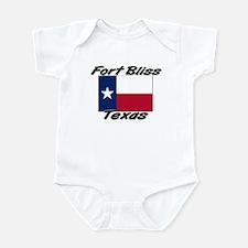 Fort Bliss Texas Infant Bodysuit