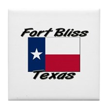 Fort Bliss Texas Tile Coaster