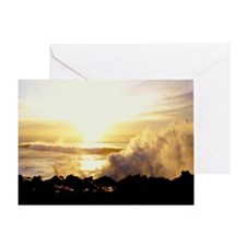 Simply Thunderous Greeting Card