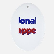 Jonah Happens Oval Ornament