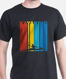 Vintage Kayaking Graphic T Shirt T-Shirt