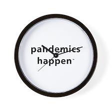 Pandemics Happen Wall Clock