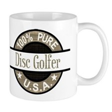 USA Disc Golfer Small Mug
