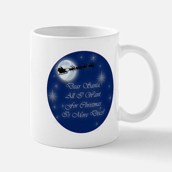 Santa More Discs Christmas Mug