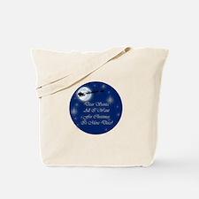 Santa More Discs Christmas Tote Bag