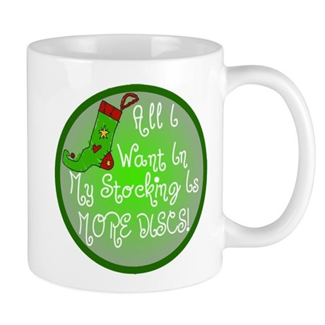 Stocking Discs Christmas Mug
