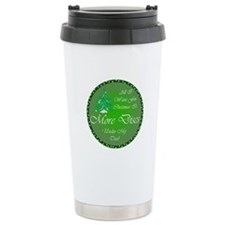 Christmas Tree Golf Discs Travel Mug