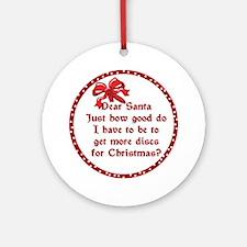 Good Disc Golf Christmas Ornament (Round)