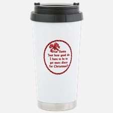 Good Disc Golf Christmas Travel Mug
