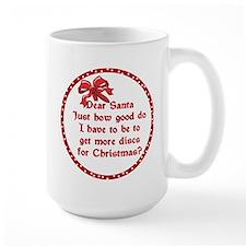 Good Disc Golf Christmas Mug