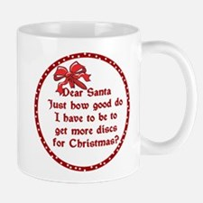 Good Disc Golf Christmas Mug