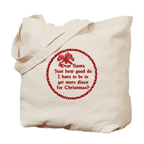 Good Disc Golf Christmas Tote Bag