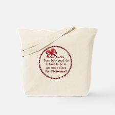 Good Disc Golf Christmas Tote Bag