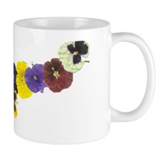 A GARLAND OF PANSIES Mug
