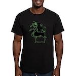 Herne Men's Fitted Black Celtic T-Shirt