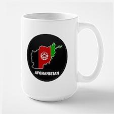 Flag Map of Afghanistan Mug