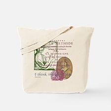 Descartes Tote Bag