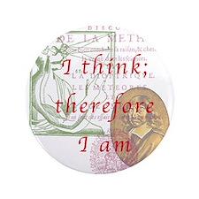 """Descartes 3.5"""" Button (100 pack)"""