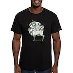 Herne Men's Fitted Celtic T-Shirt #2, Dark Colors
