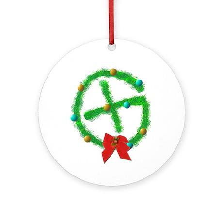Geocaching Ornament (Round)