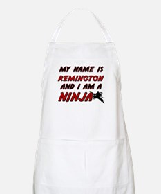 my name is remington and i am a ninja BBQ Apron