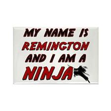 my name is remington and i am a ninja Rectangle Ma