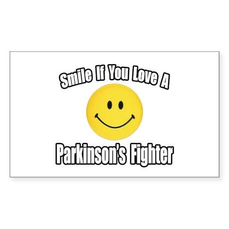 """Love a Parkinson's Fighter"" Rectangle Sticker 10"