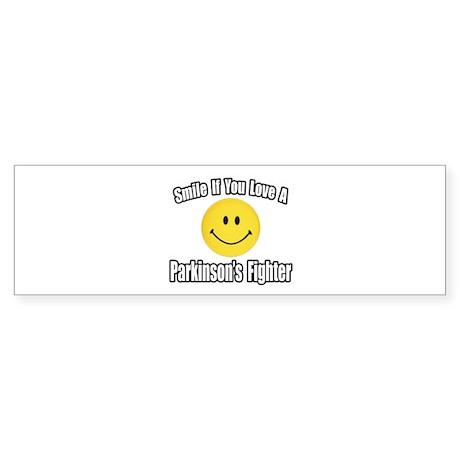 """Love a Parkinson's Fighter"" Bumper Sticker"