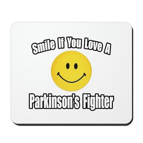 """Love a Parkinson's Fighter"" Mousepad"