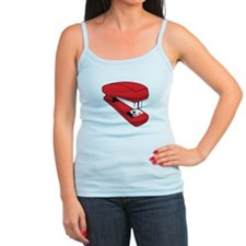 Red Stapler Tank Top