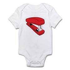 Red Stapler Infant Bodysuit