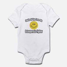 """Love..Osteoporosis Fighter"" Infant Bodysuit"