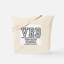 AIRPORT CODES - VRB - VERO BEACH, FLORIDA Tote Bag