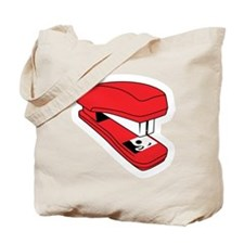 Red Stapler Tote Bag