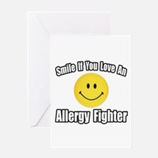 """Love an Allergy Fighter"" Greeting Card"