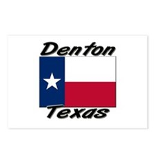 Denton Texas Postcards (Package of 8)