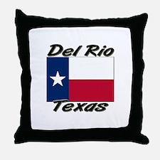 Del Rio Texas Throw Pillow