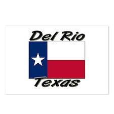 Del Rio Texas Postcards (Package of 8)