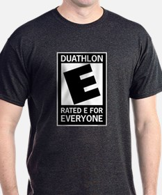 Rated E for Everyone Duathlon T-Shirt