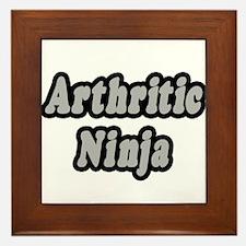 """""""Arthritic Ninja"""" Framed Tile"""