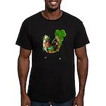 Irish Luck Men's Fitted T-Shirt (dark)