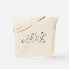 Clown Evolution Tote Bag