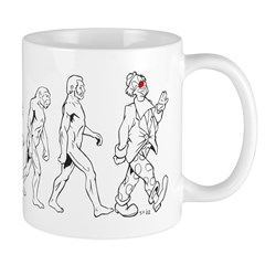 Clown Evolution Mug