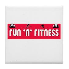 fitness Tile Coaster