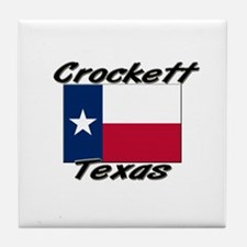 Crockett Texas Tile Coaster