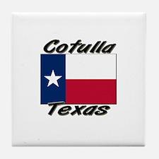 Cotulla Texas Tile Coaster