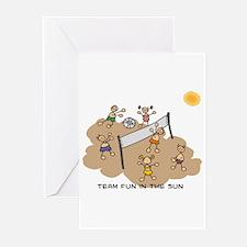team fun in the sun Greeting Cards (Pk of 10)