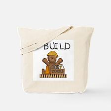 Bear I Build Tote Bag