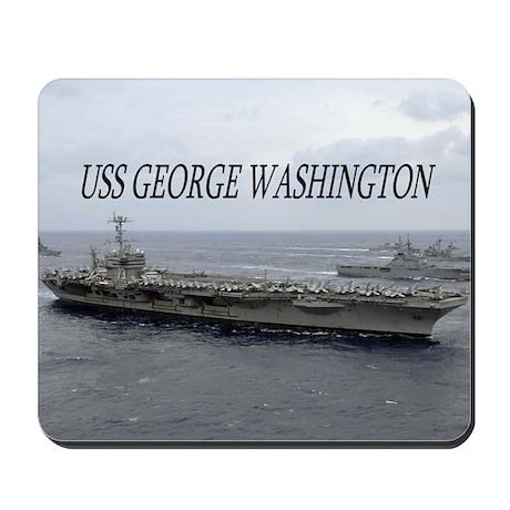 USS George Washington Mousepad