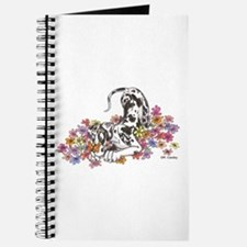 NH Pup In Flowers Journal